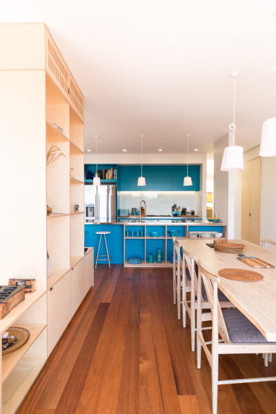 A Kāpiti Coast home's beachin' blue update