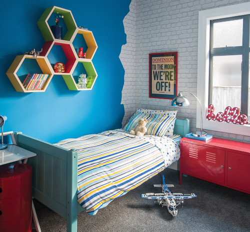 kids bedroom, childs room, wallpaper