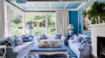 Charlotte Coote's expertly coloured Mt Macedon home has style to spare photo