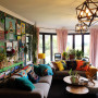 living room inspiration, wallpaper inspiration, colourful interior ideas, wallpaper feature, resene