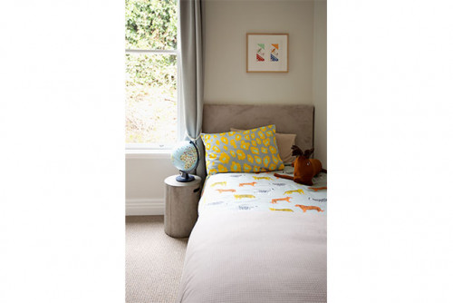 kids bedroom, children room inspiration, sausage dog kids room, white children's room, resene