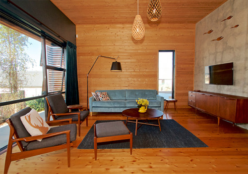 modern bach, contemporary bach, contemporary cabin, modern cabin, new zealand cabin