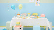 Throw a bonbon-themed birthday bash photo
