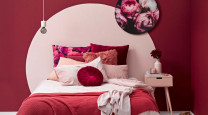 Rethinking pink and red walls photo