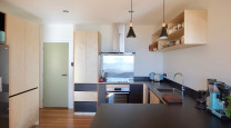 An earthquake-damaged home gets a modern makeover  photo