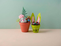 DIY Easter garden, two ways