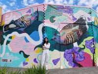 Lisa Tran Kelly's murals enthral and inspire