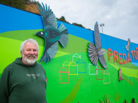 Miramar mural makes a colourful statement