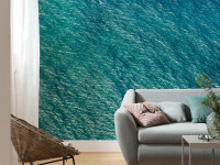 Bring home oceans of style with these water-themed wallpaper designs