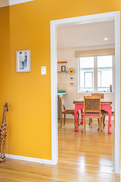 Yellow Walls, Yellow Interiors, Retro Home, Retro Interiors
