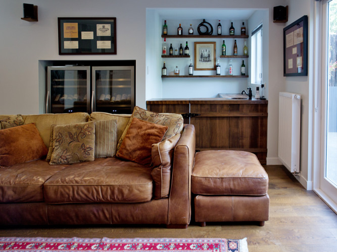living room inspiration, brown leather sofa, sofa inspiration, warm living room, neutral living room, Resene