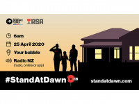 RNZRSA asks Kiwis and Aussies to 'stand at dawn' this Saturday