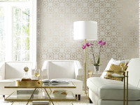 Opulence is the name of the game when it comes to these rich-looking wallpaper designs