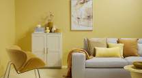 How to instantly refresh your home with yellow photo